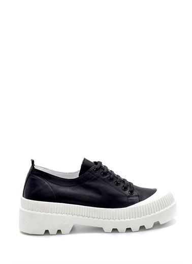 Derimod Kadın Deri Sneaker Siyah